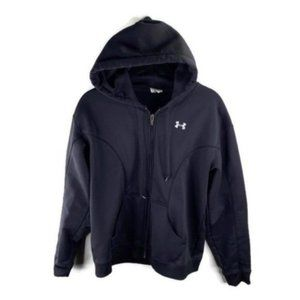Under Armour Black Hooded Sweater Size S